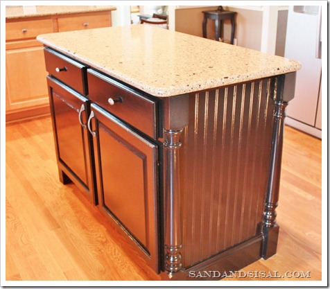 Kitchen Island Makeover After (800x680)