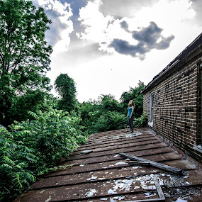 We must change by Andrew Hale - Buildings & Architecture Decaying & Abandoned ( broken, overlook, graffiti, rust, dusk, abandoned, building )