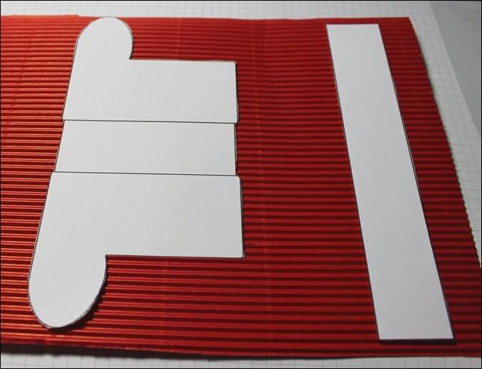 Top Nikolausstiefel aus Pappe | Das Jahreszeitenhaus GB81