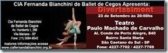 Ballet de Cegos com Audiodescrição Fernanda Bianchini - flyer da apresentação