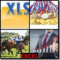 EXCEL- 4 Pics 1 Word Answers 3 Letters