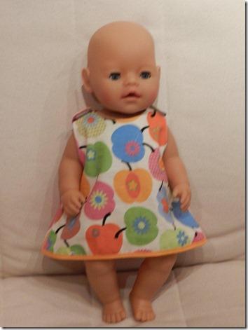 Schnittmuster kleid baby born kostenlos
