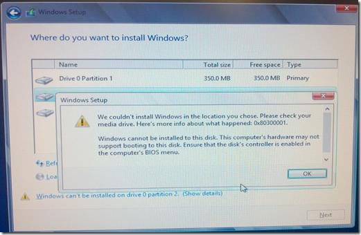 MPECS Inc  Blog: Windows Server 2012 to RST RAID 0 Error