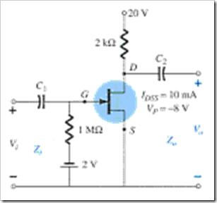 MCQs in FET Amplifiers Fig. 07