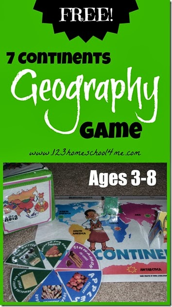 Geography game for learning 7 continents along with how to make an apple pie and see the world