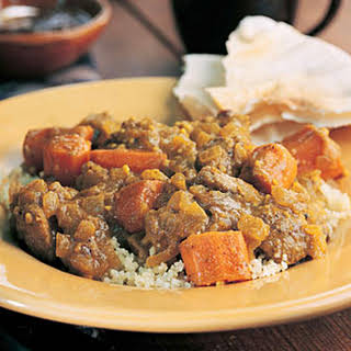 Curried Lamb and Carrots.