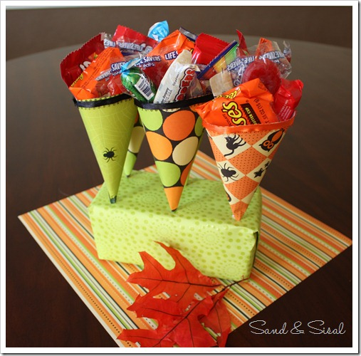 Halloween Treat Cones