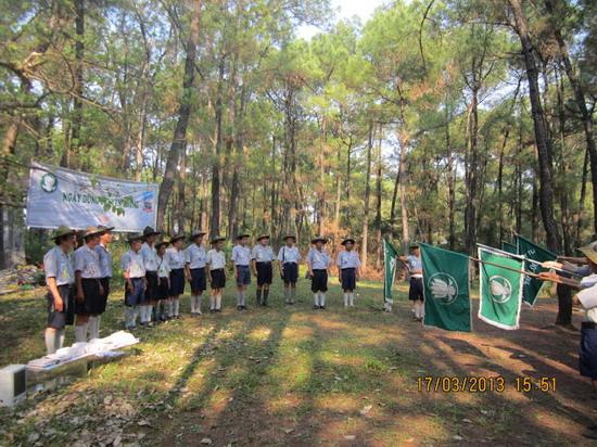 TraiDungThuaThioem2013 30 BHD GĐPT Thừa Thiên tổ chức Trại Dũng năm 2013