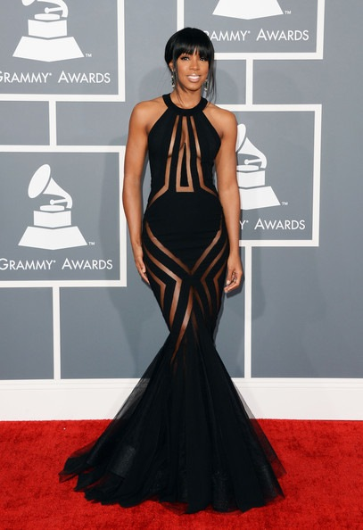 Kelly Rowland 55th Annual GRAMMY Awards Arrivals