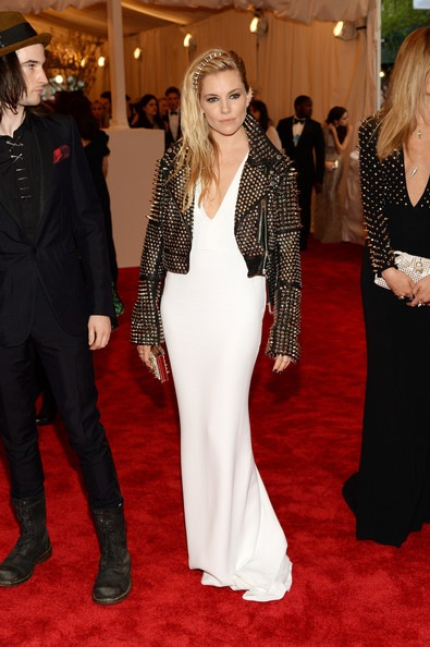 Sienna Miller attends the Costume Institute Gala