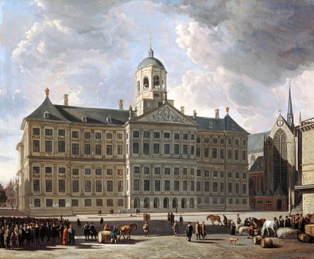 Gerrit Adriaenszoon Berckheyde - 3 El nuevo ayuntamiento de Amsterdam de 1673.jpg