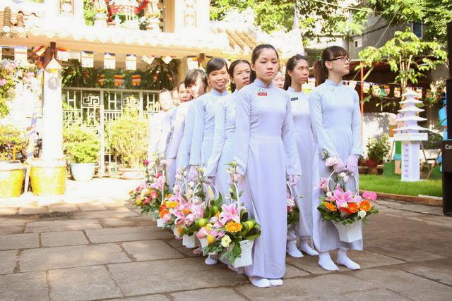 IMG 1732 Đại lễ Phật đản PL 2557 tại Tu viện Quảng Hương Già Lam