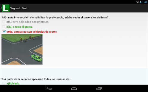 Tests de Conducir Autoescuela- screenshot thumbnail