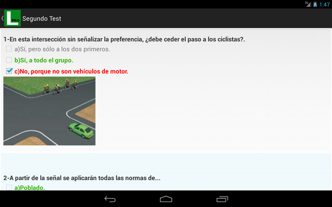 Tests de Conducir Autoescuela- screenshot