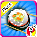Hot Gioco cucina sushi maker icon