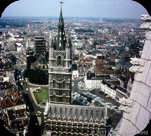 View-Master Belgium (B188), Scene 16: Towers of Ghent