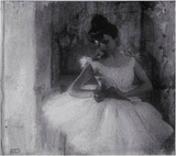 Robert Demachy - Una bailarina, 1900