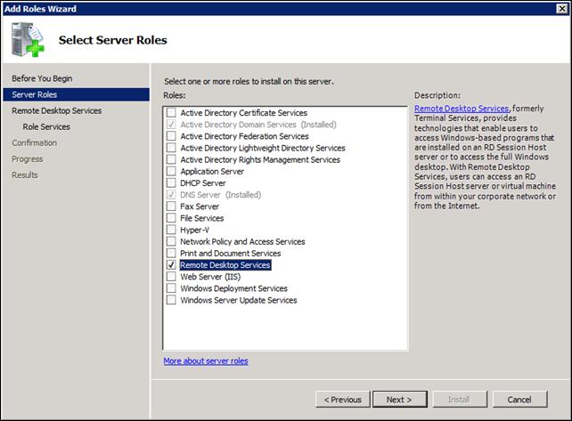OakLeaf Systems: Enabling Remote Desktop Services in a