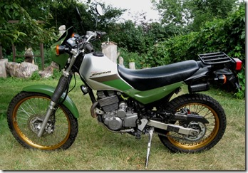 Geezer with a Grudge: My Motorcycles: Kawasaki KL250 Super