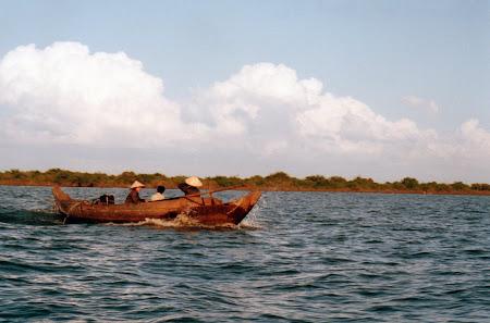 Imagini Cambogia: lacul Tonle Sap
