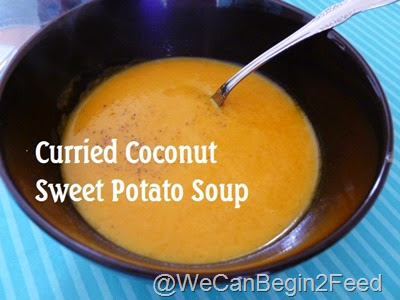 Curried Coconut Sweet Potato Soup