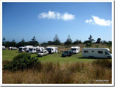 Waiinu camping ground.