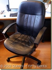 Smart desk chair