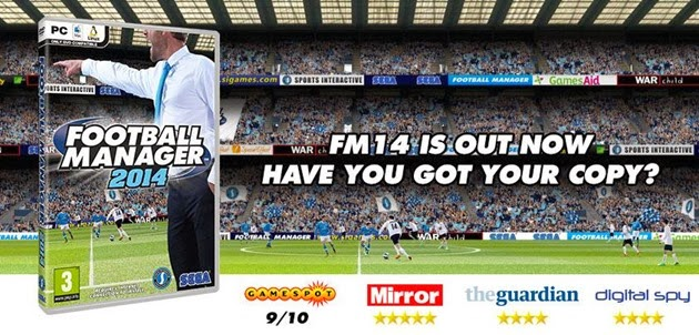 Football Manager 2014 - Out Now!