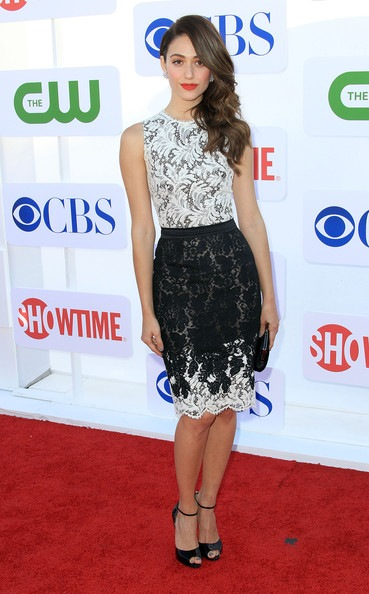 Emmy Rossum CW CBS Showtime 2012 Summer TCA