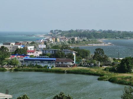 Panorama Eforie Nord: Marea si lacul Techirghiol