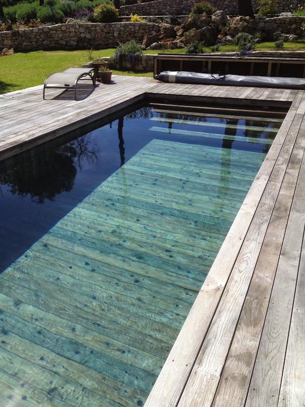 Nos Creations Piscine Bois Modern Pool France