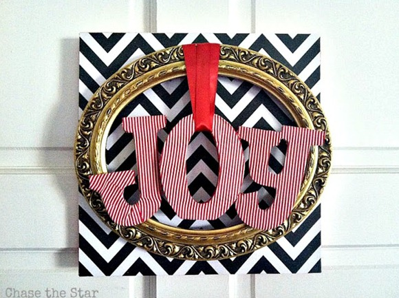 fun JOY wreath