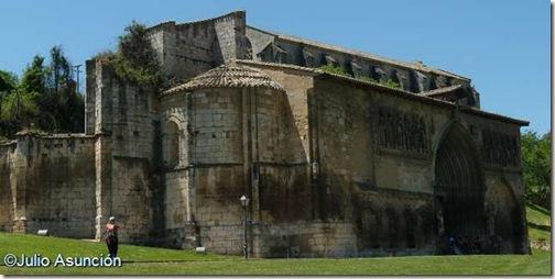 Iglesia del Santo Sepulcro - Estella - Vista general