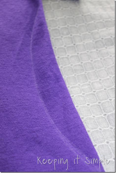 gathered sides t-shirt refashion (3)