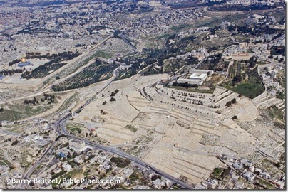 Mount of Olives aerial from southeast, bb00030046