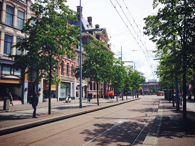 tram lines the hague