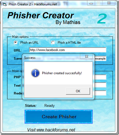 Phisher Creator V2 – All In One Phishing Tool Free Download - Giant