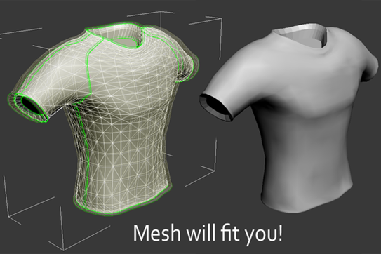 Mesh Will Fit You