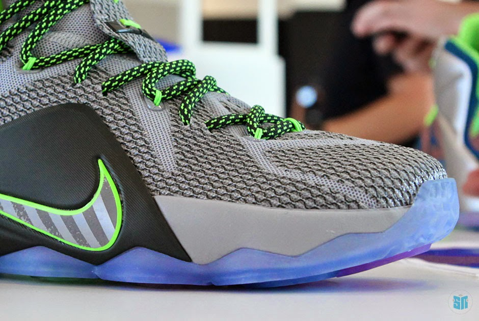 624de04296f Detailed Look at Upcoming Nike LeBron 12 8220Dunk Force8221 aka Dunkman ...