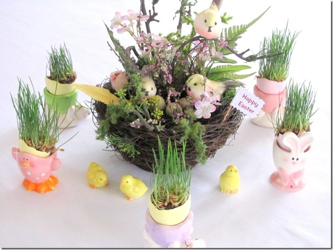 lovely easter decor