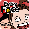 EveryFace – caricature for all icon