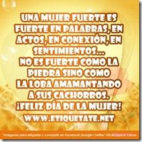 14febrero - 14febrero - Feliz Día de la Mujer 2012 - Frases Originales para Facebook