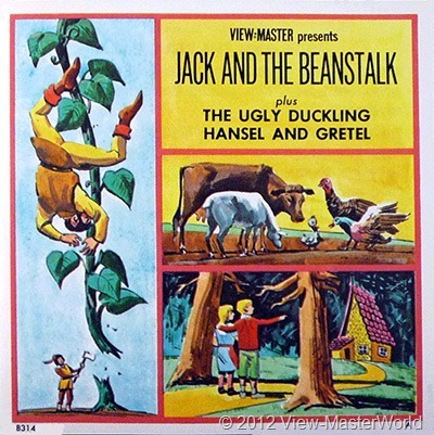 View-Master Three Fairy Tales featuring Hansel and Gretel (B314), booklet cover