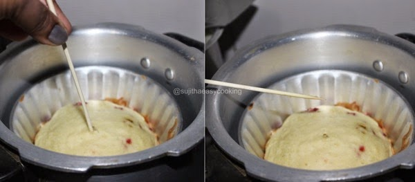 Sujitha Easycooking: Pressure Cooker Cake/No Butter