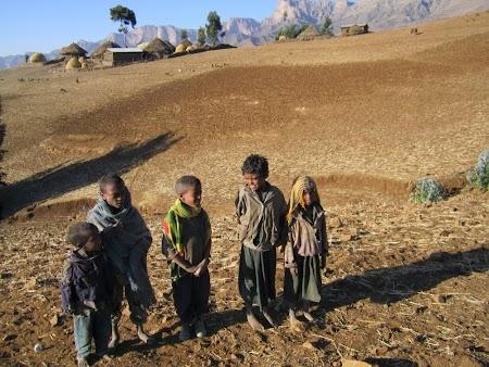 Trekking Muntii Simien - Etiopia: In drum spre Sona