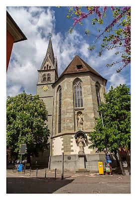 Konstanz: Sightseeing & Geocaching - Kirche in der Altstadt