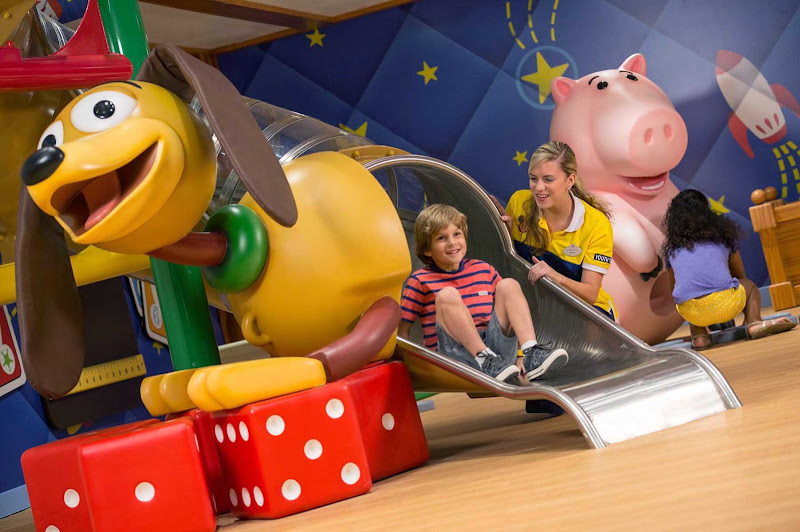 The Oceaneer Club On Disney Wonder Is A Fun Supervised Activity Center For Children Ages 3