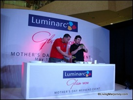 Luminarc-Glam Mom with Chef Sharwin Tee