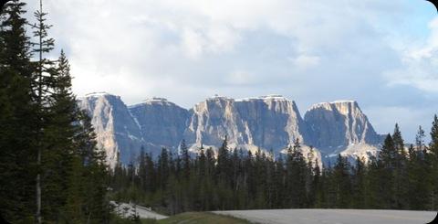 BanffNationalPark-Highway93-LakeAltrude-LakeLouise-PostHotel-TransCanadaHighway 4