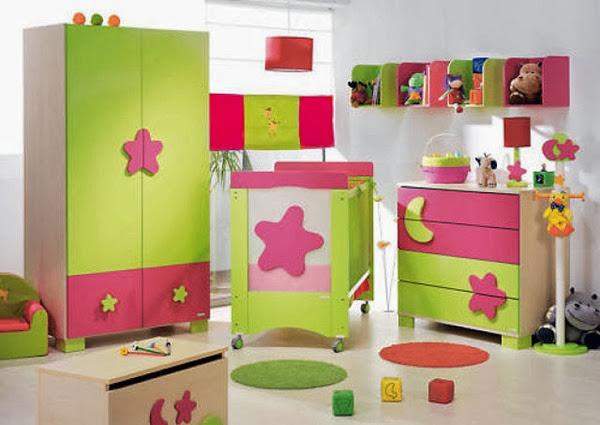 decoracion-habitacion-bebe-color-verde